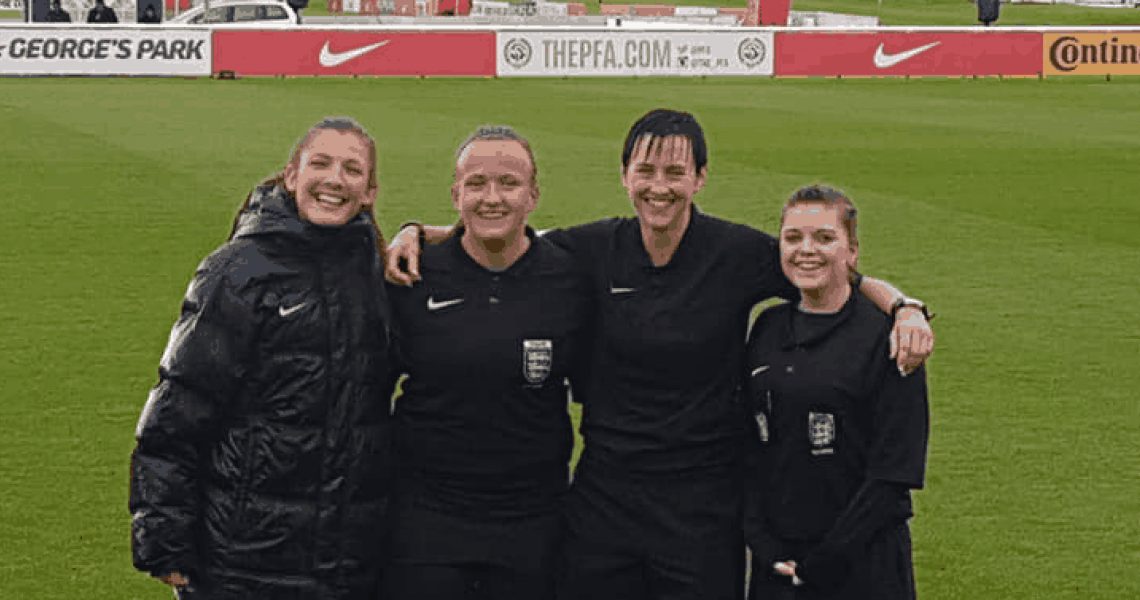Referee, female & only 5ft 3, does it make a difference?